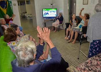 Percentual de idosas, no país, cresce com o avanço da idade. Pesquisa do IBGE mostra que elas tem maior capacidade de reconhecer as próprias dificuldades do que os homens (Tomaz Silva/Agência Brasil)