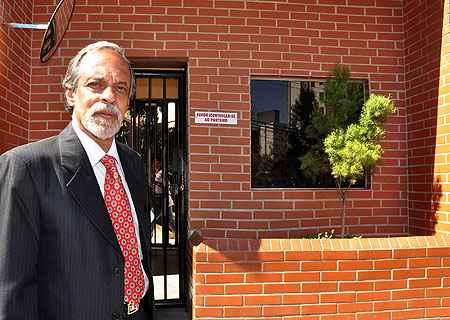 Substituir porteiros por vigilância eletrônica é tema polêmico em prédios, segundo o presidente da Associação Brasileira de Condôminos (Abcon), Helbert Silva (Eduardo Almeida/RA Studio)