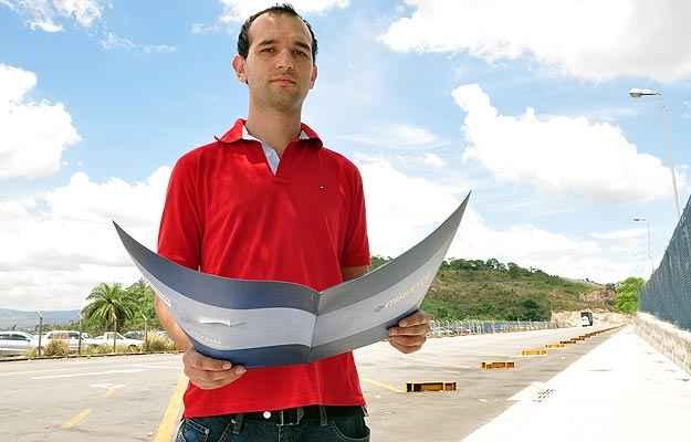 O crescimento do Vetor Norte influenciou a decisão do engenheiro mecânico Thiago Zolet de investir na compra de um residencial no Bairro Planalto (Eduardo de Almeida/RA Studio)