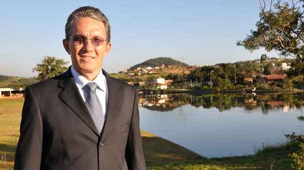 Dono da Ariane Imóveis, Antônio Carvalho Mota diz que 80% dos lotes do Condomínio Aldeias do Lago j´aforam comercializadas  (Eduardo de Almeida/RA Studio)