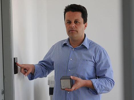 Erick Cury, da Neocontrol, destaca a segurança e o conforto para moradores (Gladyston Rodrigues/EM/D.A Press)