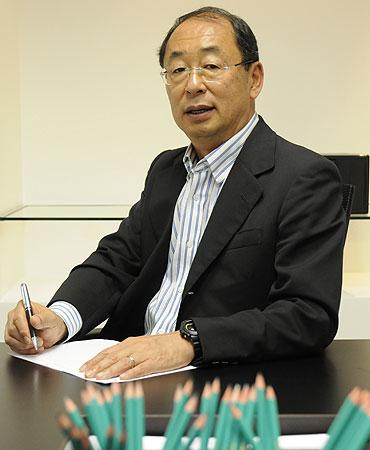 Wilson Masao, sócio do Grupo Vitória da União, lembra que patrimônio não sofre depreciação  (Jair Amaral/EM/D.A Press)