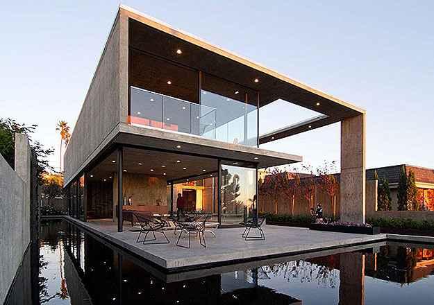 Esta casa na Califórnia, EUA, também compete diretamente com o projeto de Itaipava (Architizer A  Awards/Divulgação)