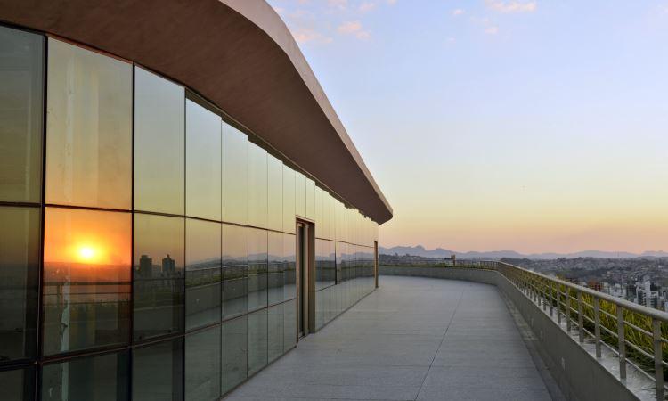 O Paisagem Escritório Parque tem infraestrutura totalmente adaptável às necessidades dos mais diversos tipos de negócios - Pedro Vilela/Agência i7
