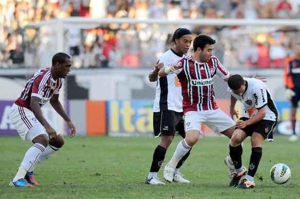 Confira imagens do duelo entre Fluminense e Atlético, disputado no Engenhão - Dhavid Normando/Photocamera