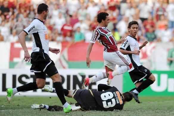 Confira imagens do duelo entre Fluminense e Atlético, disputado no Engenhão - Dhavid Normando/Photococamera