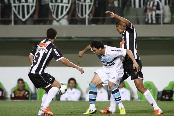 Imagens da partida entre Atlético e Grêmio - Rodrigo Clemente EM DA Press