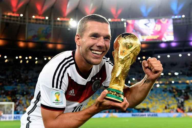 Resultado de imagem para Lukas Podolski Copa do mundo 2014