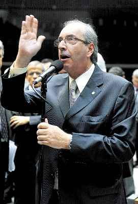 Cunha disputa hoje à tarde a liderança do PMDB na Câmara: preocupação (Luis Macedo/Agência Câmara)