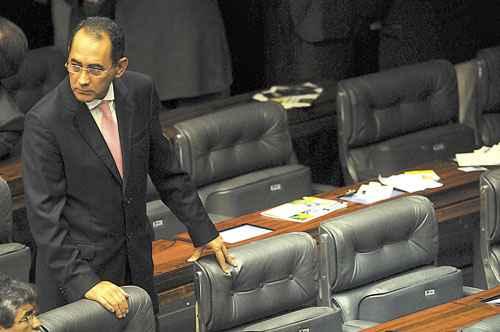 Cunha acredita que o STF vai demorar a publicar o acórdão do mensalão  (Iano Andrade/CB/D.A Press)