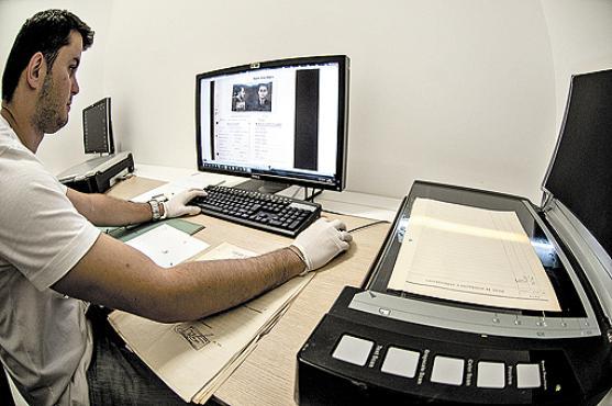 O Arquivo Público de São Paulo levou dois anos para digitalizar quase 300 mil fichas de ativistas políticos (Marcelo Camargo/ABr)