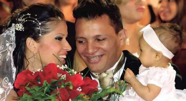 Daniela e Marcos se casaram no ano passado no Casamento Coletivo (Lúcio Santos / Divulgação Edilane Produções)