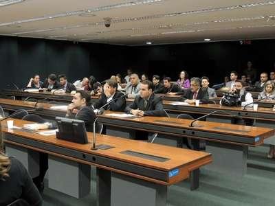 Participaram da audiência candidatos e professores de direito (Nadjara Martins/Esp. CB/DA Press)