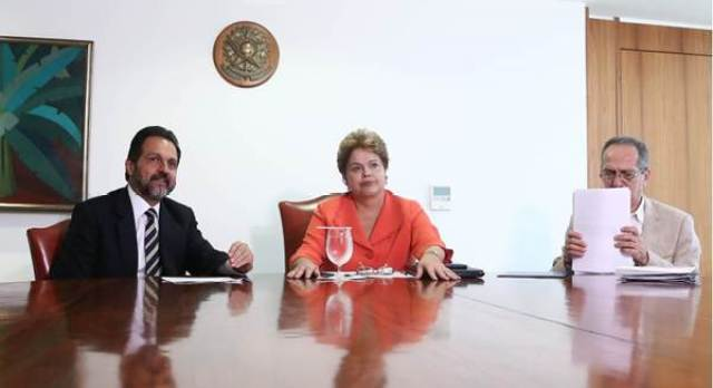 Agnelo esteve com Dilma no Planalto para falar sobre a Universíade ( Roberto Castro/GDF)