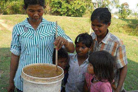 O procedimento de purificação da água é bem simples (Reprodução/ P&G)