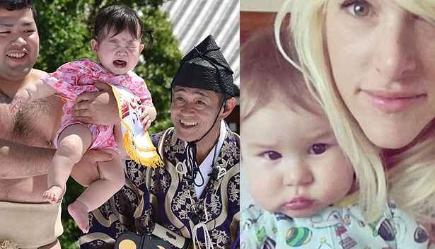 AFP PHOTO / Yoshikazu TSUNO e Reprodução Twitter / Sarah Blackwood