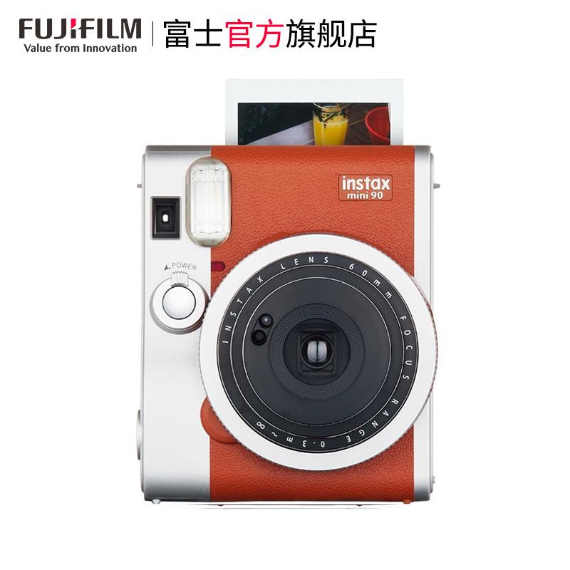 富士(FUJIFILM)拍立得mini90 FUJIFILM/富士 instax MINI/mini90 棕 富士 經典復古 拍立得 相機 膠片相機 富士小尺寸膠片 ...