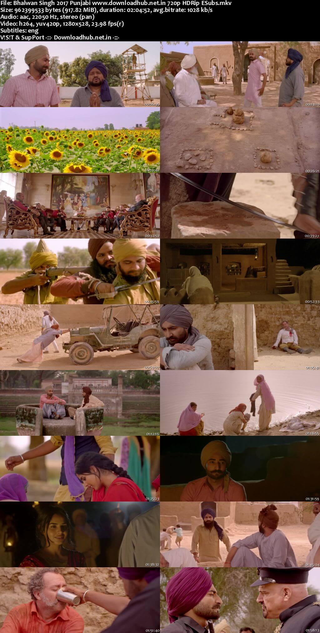 Download Bhalwan Singh 2017 Punjabi 480p HDRip