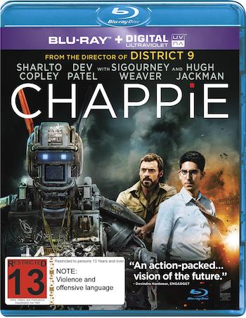 Chappie 2015 Dual Audio Hindi Bluray Movie Download