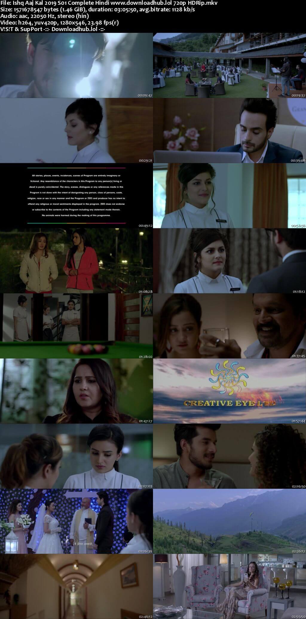 Ishq Aaj Kal 2019 Hindi Season 1 Complete Episodes 720p HDRip