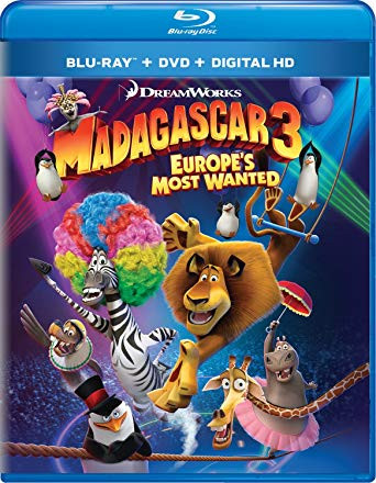 Madagascar 3 - Europes Most Wanted 2012 Dual Audio Hindi Bluray Movie Download