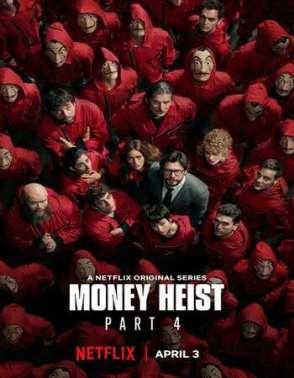 Download Money Heist (Season 1 – 4) Dual Audio {Hindi-English}