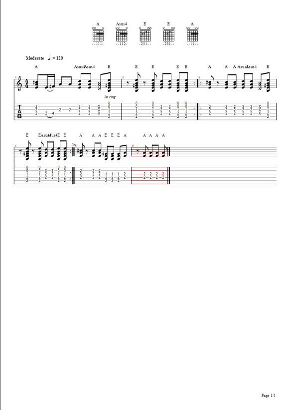 啦啦啦德瑪西亞主題曲伴奏吉他譜_啦啦啦德瑪西亞吧_百度貼吧