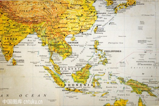 Thailand Map Issan