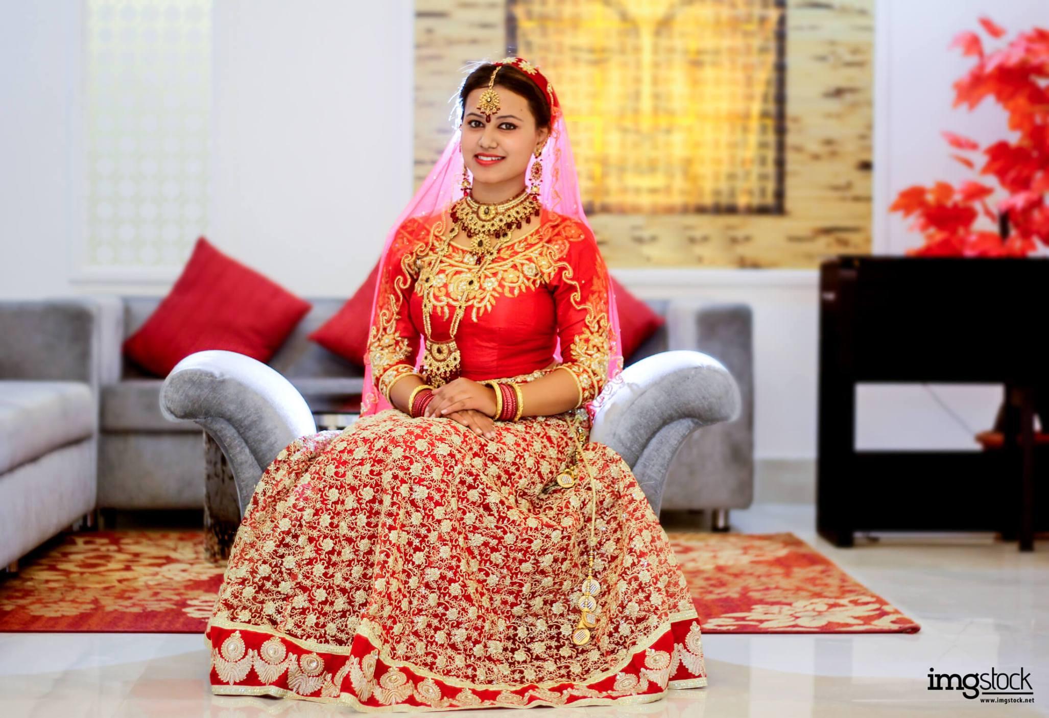 Mansa Karki Bridal Photoshoot - Imgstock, Biratnagar