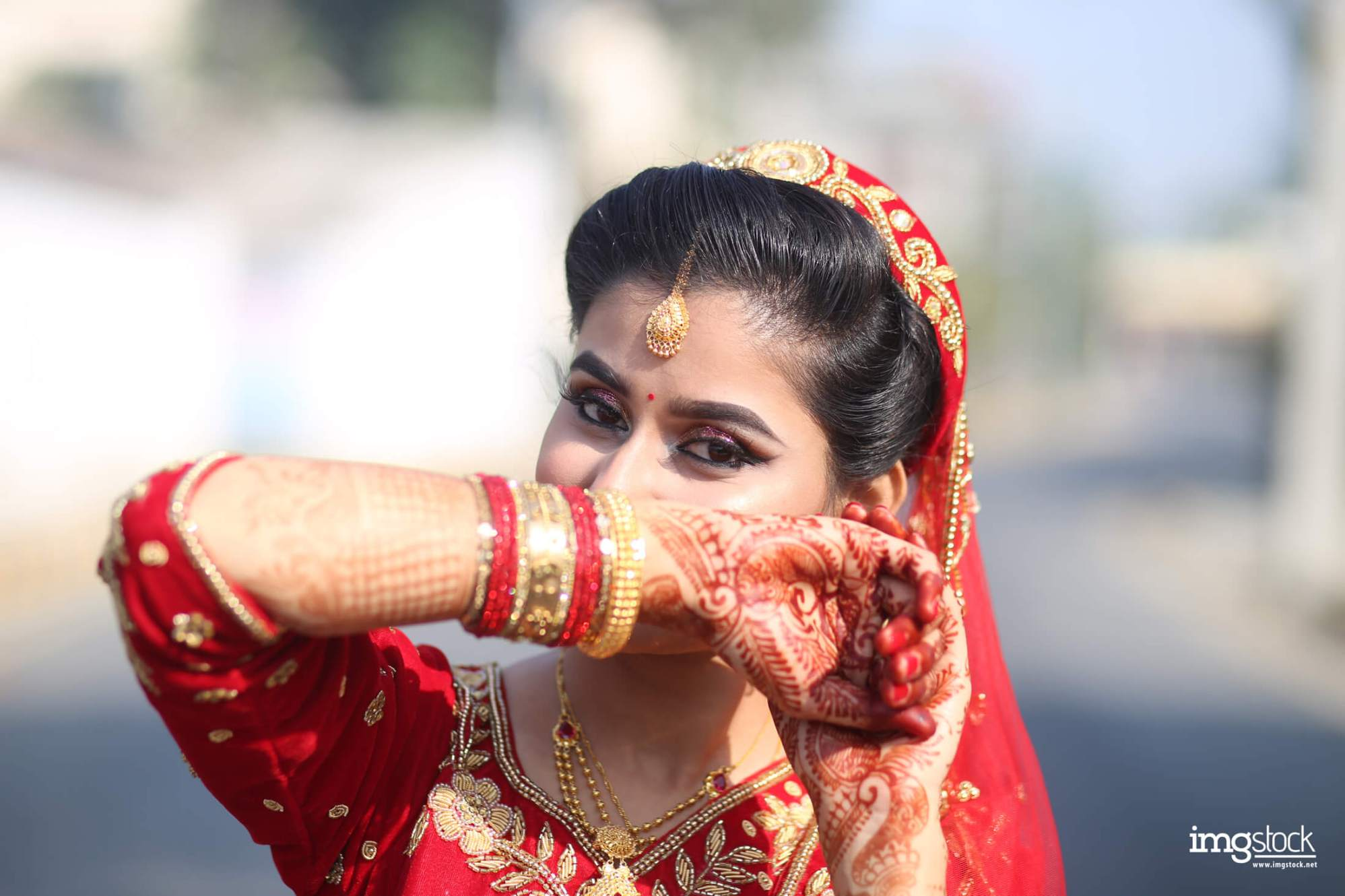 Swikriti Gautam - Bridal Photoshoot, Imgstock