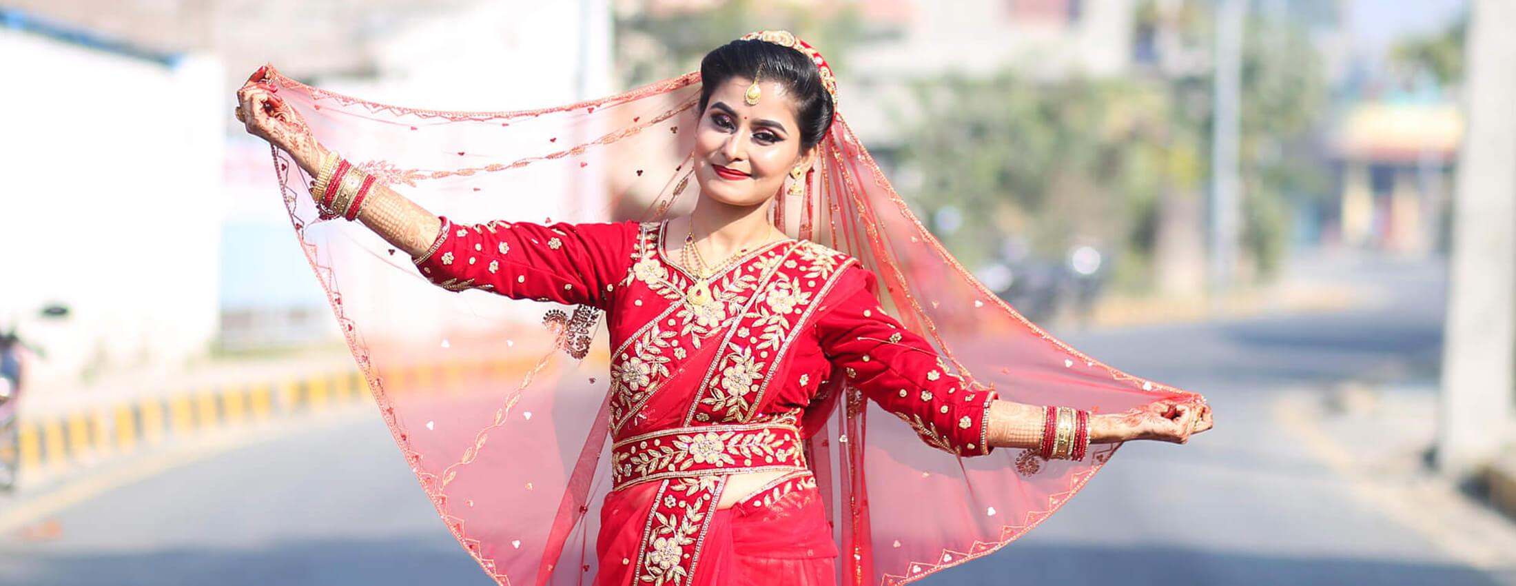 Swikriti Gautam - Bridal Photoshoot, Imgstock Biratnagar