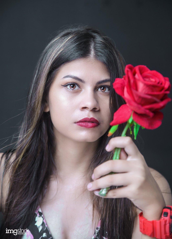 Suzata Panthi - Modeling photoshoot, ImgStocka