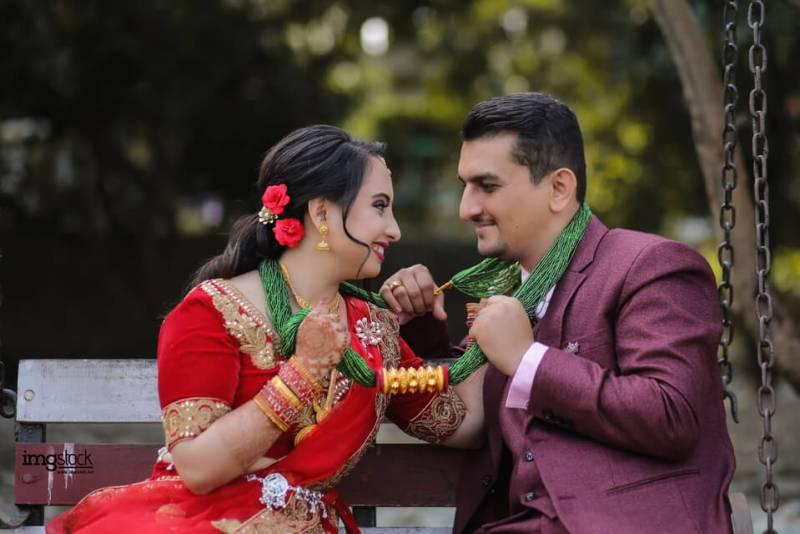 Etikshya Jenny Regmi and Sumit Adhikari