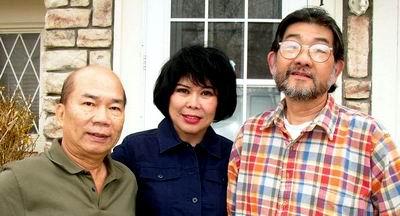 Esteban, Maria and Lito  [#1407689] Three Philippine expatriates united in the States through their love of art.