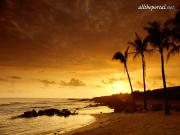 Sunset, Kauai, Hawaii - 1600x1200 - ID 15768 - P.jpg image hosted at ImgTaxi.com