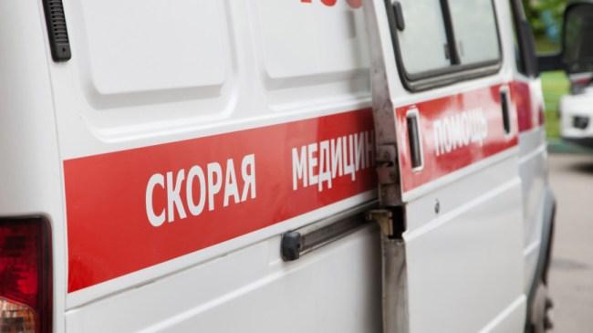В центре Уфы пассажирский автобус столкнулся с легковушкой
