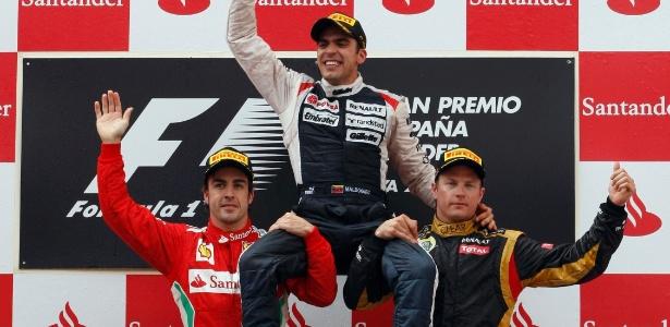 Pastor Maldonado ganhou o GP da Espanha e virou o 1º venezuelano a vencer na F-1