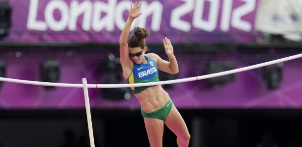 Candidata a uma medalha, Fabiana Murer falha não avançou à final do salto com vara