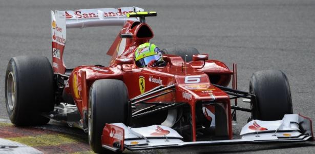 Felipe Massa ficou satisfeito com o quinto lugar conquistado no GP da Bélgica