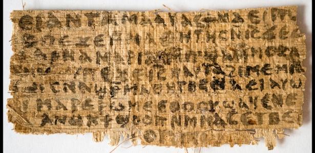 """Inscrição em papiro do século 2 menciona que Jesus foi casado, segundo pesquisa da Universidade de Harvard divulgada nesta terça-feira (18). O texto em copta (idioma falado no Egito na época do Império Romano, mesmo período em que Jesus teria vivido) traz a frase: """"Jesus disse a eles, minha esposa..."""", afirma o estudo"""