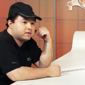 O humorista Alexandre Porpetone