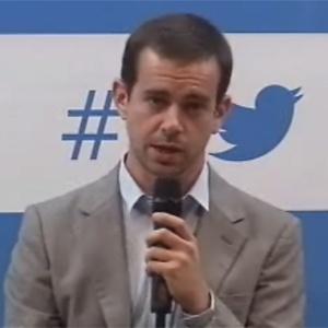 Jack Dorsey, fundador do Twitter, participa de conversa com alunos da FGV e jornalistas durante evento realizado em São Paulo