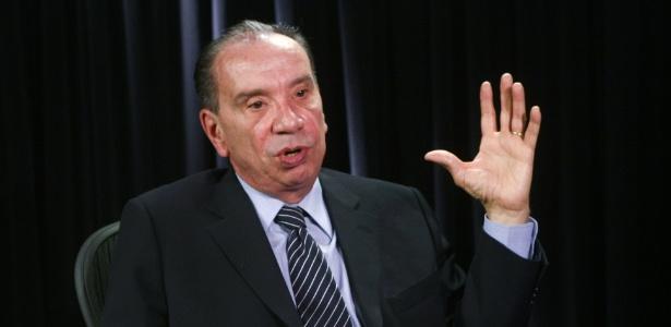O senador Aloysio Nunes (PSDB-SP), que irá contra o acordo entre seu partido e o PMDB para votar alteração na maioridade penal