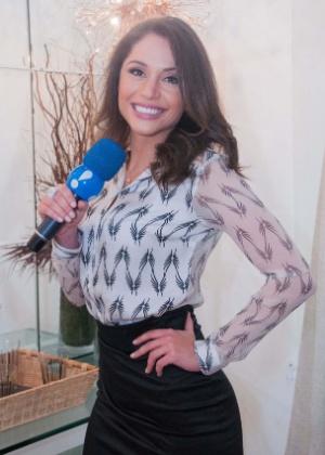 """A ex-BBB Maria Melilo será repórter do """"TV Fama"""""""
