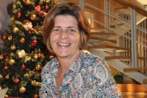 A autora de novelas Cristianne Fridman