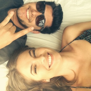 Lua Blanco e Bruno Gissoni