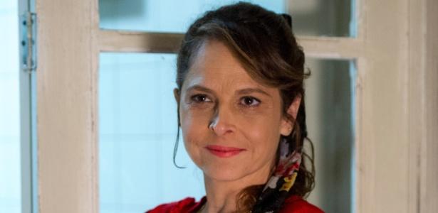 """Drica Moraes como Carolina, personagem da novela """"Verdades Secretas"""""""