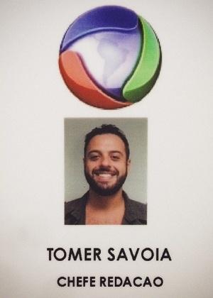 O produtor Tomer Savoia comemora sua contratação na Record. Ele saiu do