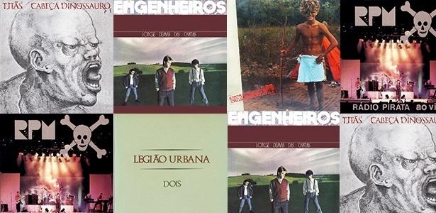 Capa dos discos do rock nacional lançados em 1986 que permanecem atuais