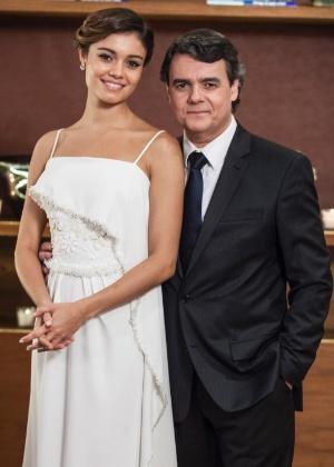 """Casamento de Evandro e Alice em """"Babilônia"""""""